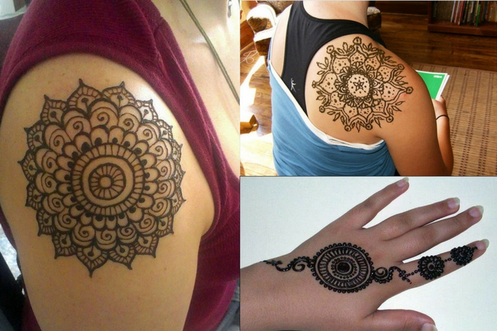 25 Simple and Traditional Circle Mehendi Designs You Should Definitely Try In 2018