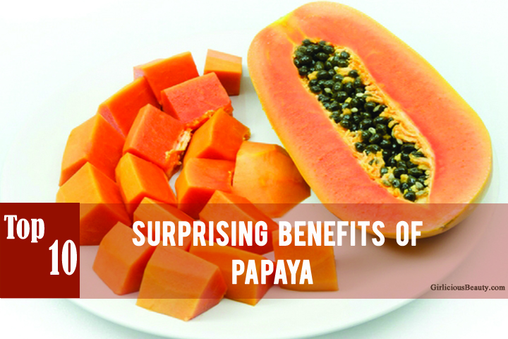 Top 10 Best Surprising Benefits of Papaya !