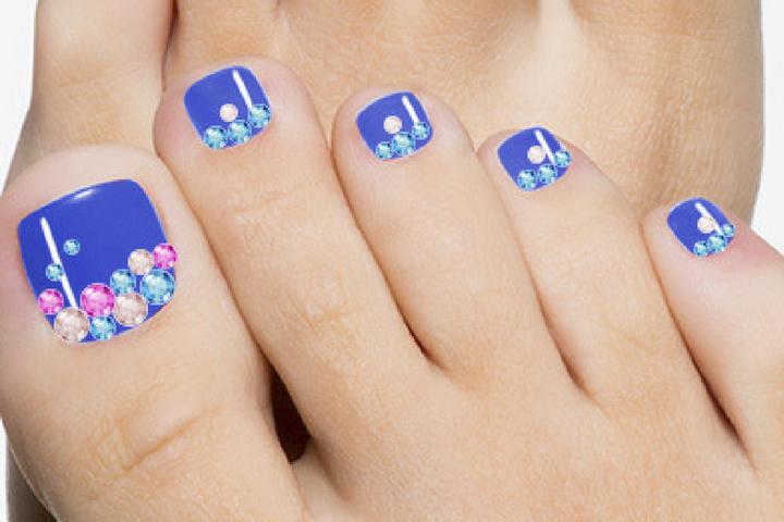 Animal Themed Toe Nail Art