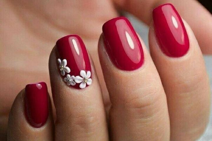 Crystal nail art designs