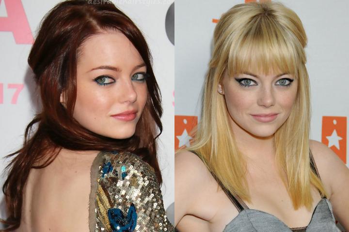 Emma stone Hairstyles