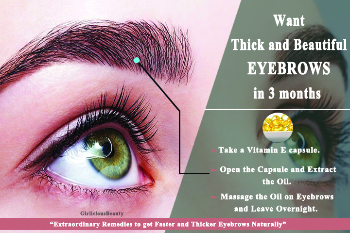 Extraordinary Remedies to get Faster and Thicker Eyebrows Naturally