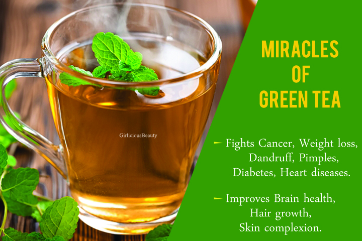12 Medicinal Benefits Of Green Tea – One Should Try