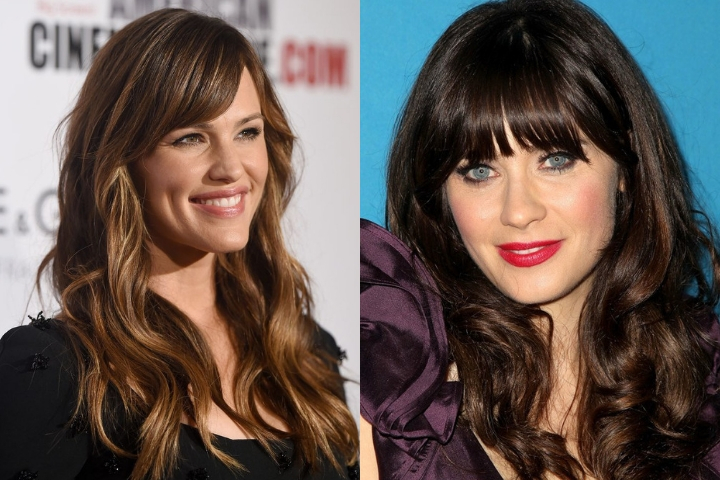 Hairstyles and Haircuts With Bangs For Naturally Curly Hair