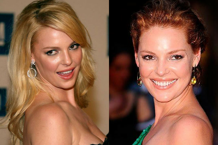 Katherine Heigl Haircuts