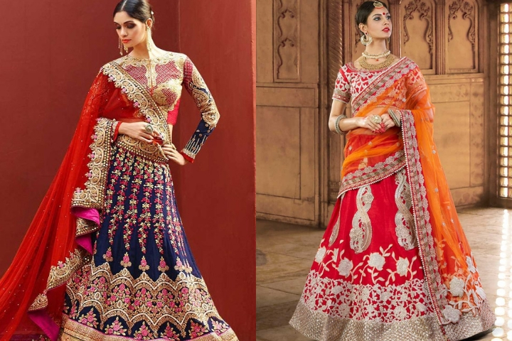 Latest Lehenga Choli's For Teenagers Specially for Farewell Parties