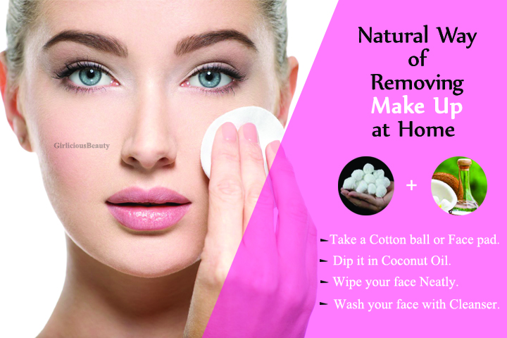 Incredible Ideas For Removing Makeup Naturally At Home
