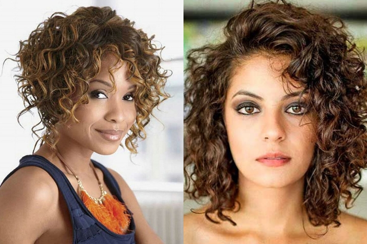 Hairstyles For Naturally Short Curly Hair Trending In 2018