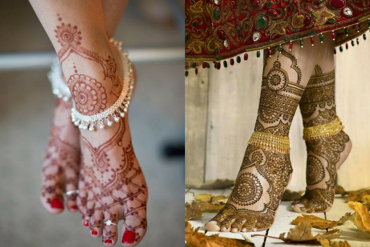 Latest Foot mehndi Designs For All Occasions