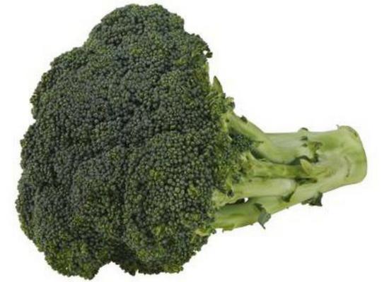 Broccoli as raw