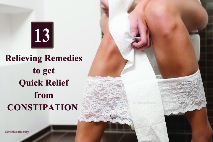 13 Relieving Remedies To Get Quick Relief From Constipation