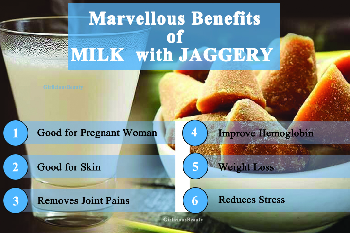 Excellent Benefits Of Drinking Milk With Jaggery – Please Make A Try