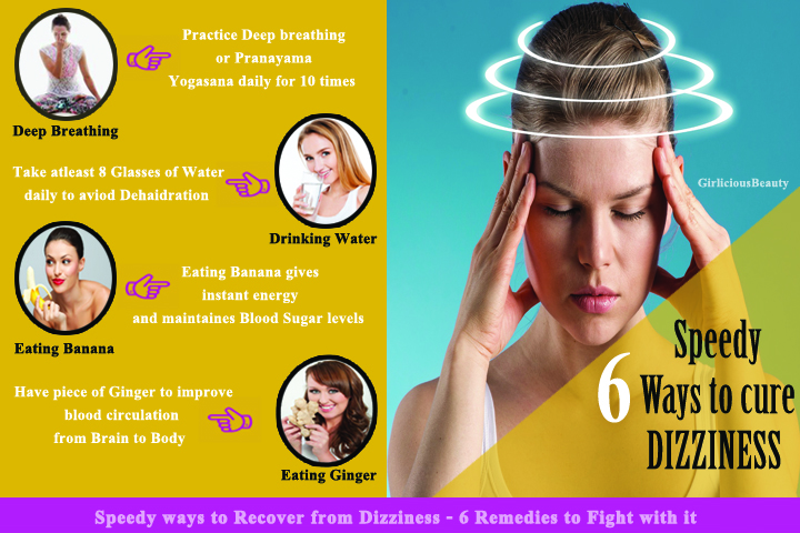 Speedy Ways To Recover From Dizziness – 6 Remedies To Fight With It