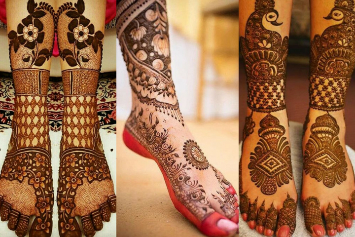 Fabulous Foot Mehndi Designs Trending In 2018