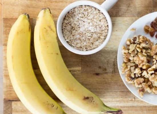 Banana and oatmeal