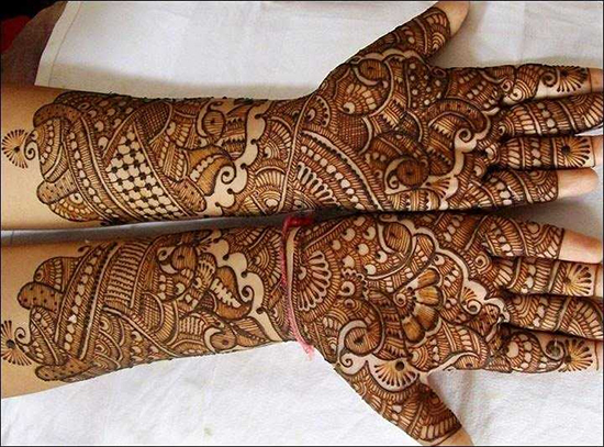bridal mehndi designs for hands - dulhan henna designs on Latest