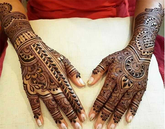 modern bridal mehndi designs - dulhan mehandi images on Be