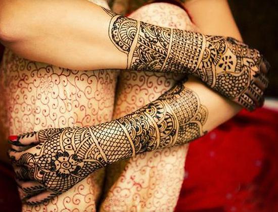 Bridal Mehndi Designs For Hands In Full Hand 31