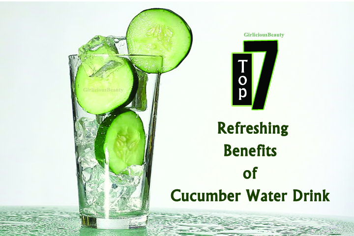 7 Refreshing Benefits Of Drinking Cucumber water