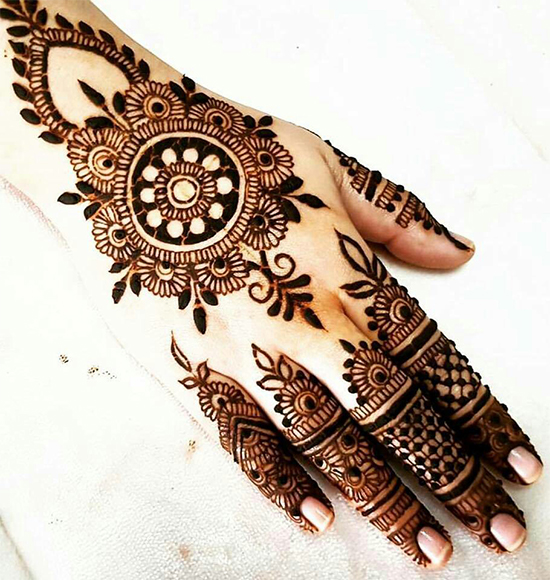Chand Raat Eid Mehndi Designs