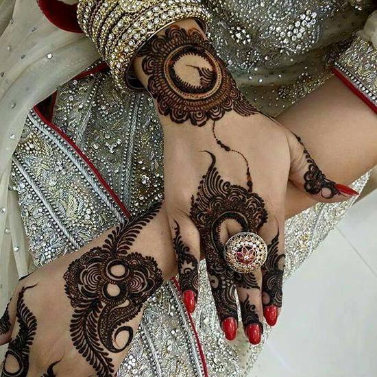 Cool Bridal Mehndi Design