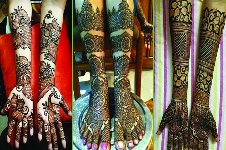 Engegement Mehandi Designs