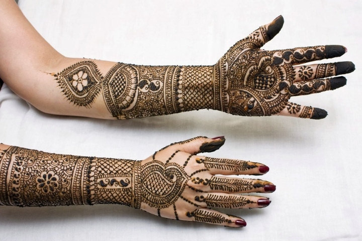 18 Floral Eid Mehndi Designs In 2018 – Girlicious Beauty