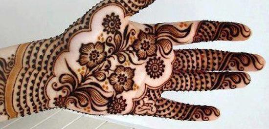 Full Floral Mehndi Pattern