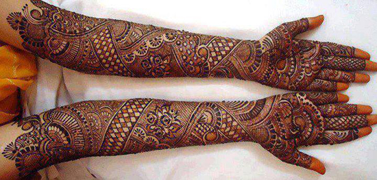 25 Most Beautiful Mehndi Designs For Engagement in 2018