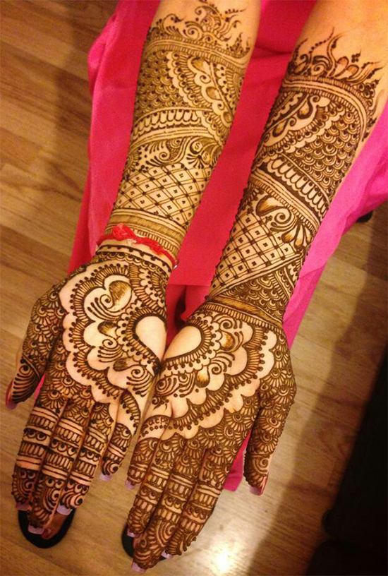 Hearts and Mangoes Bridal Mehandi
