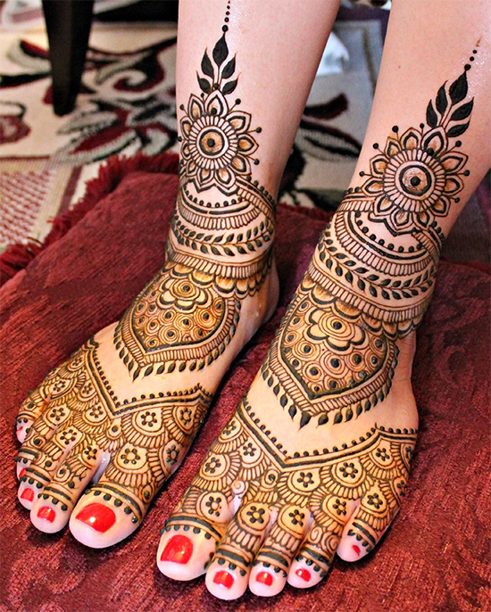 Latest Indian Bridal Mehandi Design