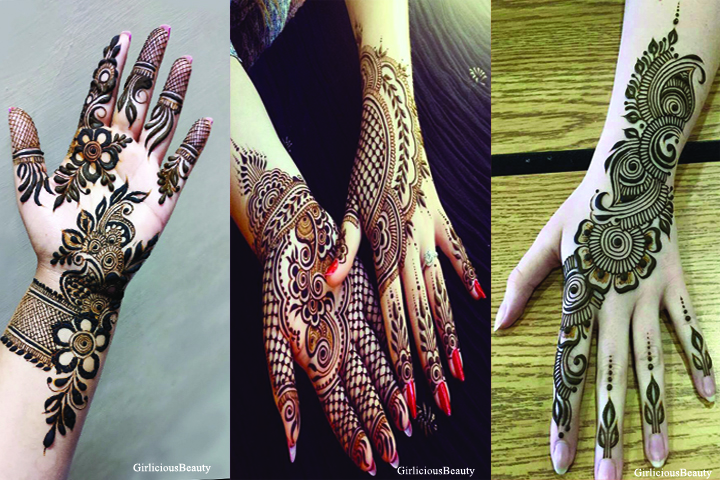 21 Unique and Beautiful Mehndi Design Patterns in 2018