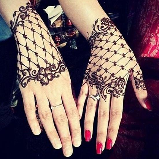 Net Henna Mehendi Design