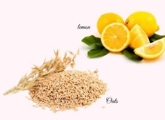 Oatmeal with lemon