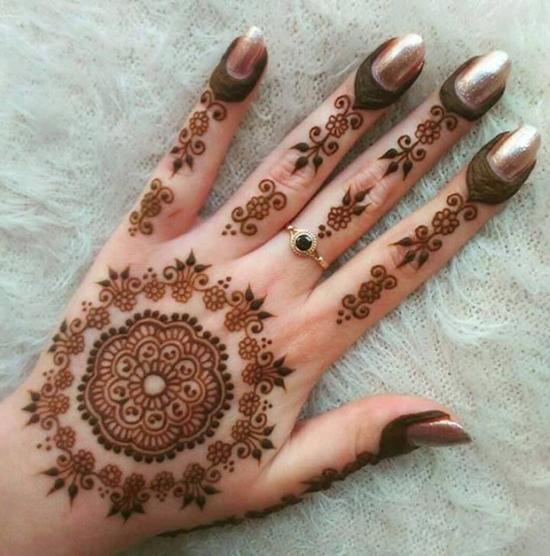 Top-Lovely-Floral-Mehndi-Designs-For-Hands