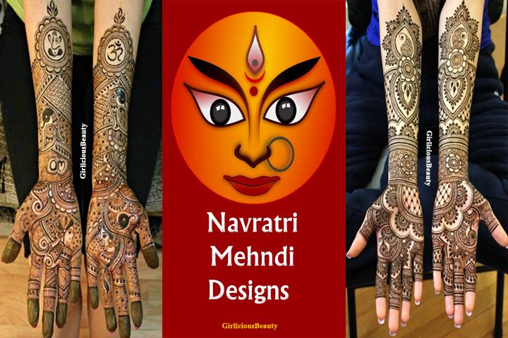 Navratri Mehndi Designs