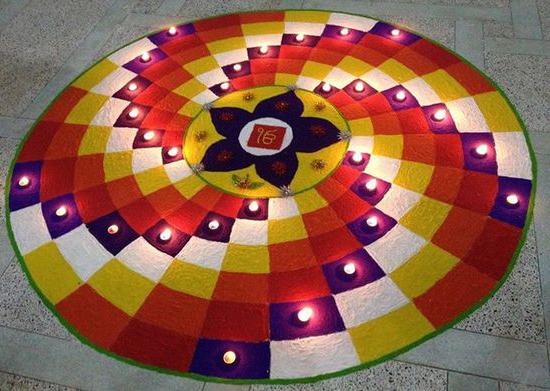 New Pattern Diwali rangoli designs