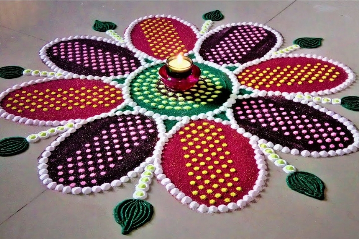 17 Trending Colorful Diwali Rangoli Patterns in 2018 – Try It.