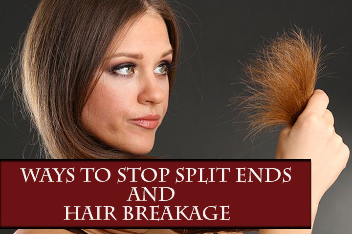 7.Ways To Stop Split Ends And Hair Breakage