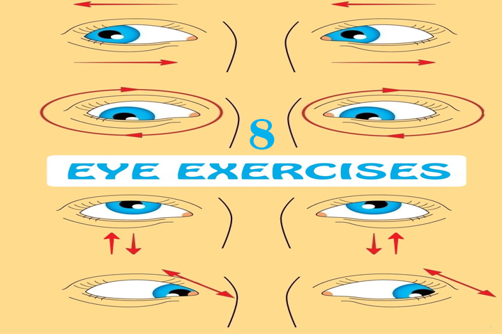 8 Eye Exercises To Strengthen Eye Muscles And Improve Your Vision