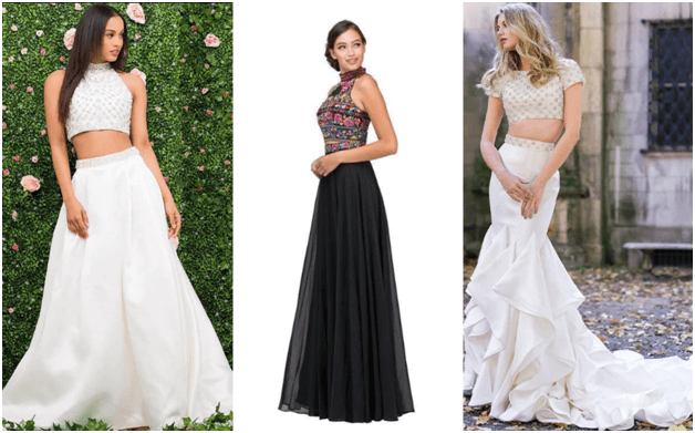 The Hottest Bridal Dress Trend for 2019 – Two Piece Wedding Dresses