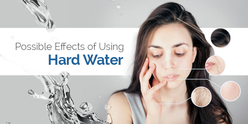 How to Limit the Effects of Hard Water on Hair and Skin