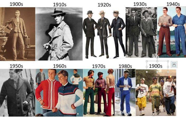 Evolution of Men's Fashion