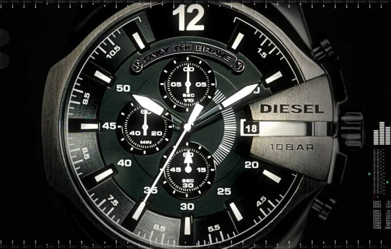 Elegant and Luxurious Diesel Watches By Renzo Rosso