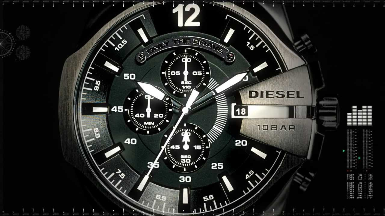9 Elegant and Luxurious Diesel Watches By Renzo Rosso